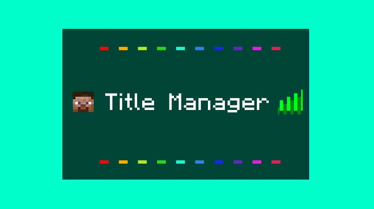 titlemanager