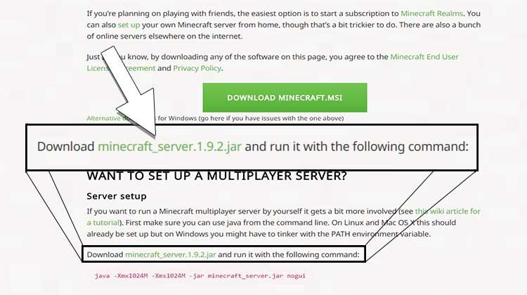 server-dowonload
