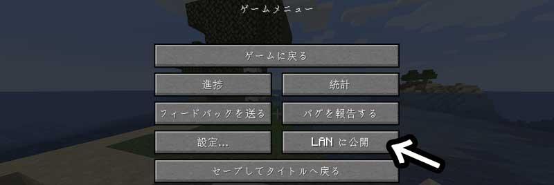 LANに公開する