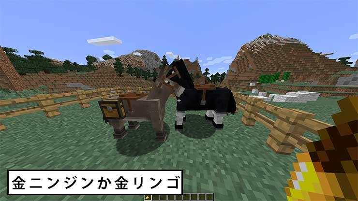 マイクラ 馬 に 乗る 方法