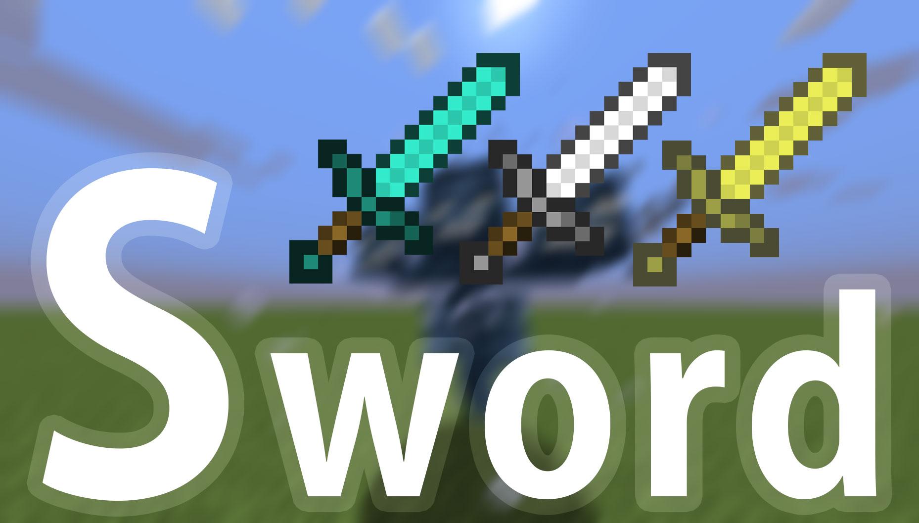 【マイクラ】最強の剣を作る方法を説明する。最強になれ ...