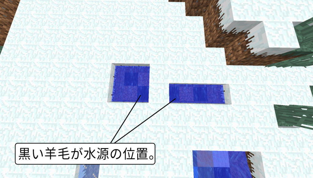 マイクラ 無限水源の作り方