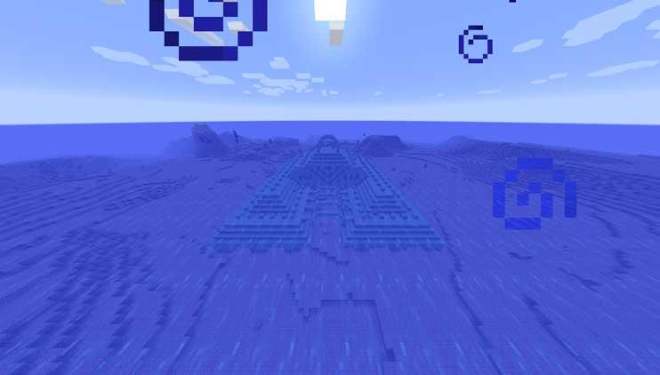 マインクラフトの海底神殿