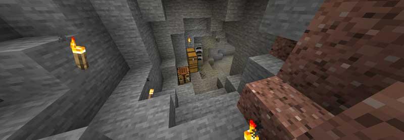 洞窟に住む