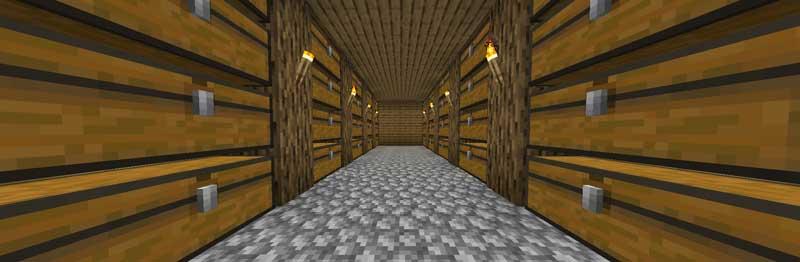 シンプルな倉庫