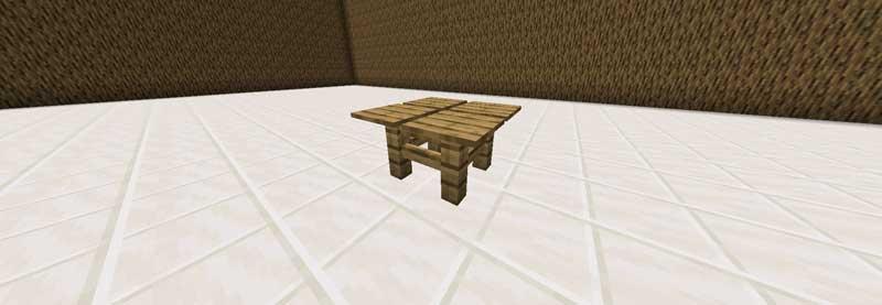 感圧版のテーブル