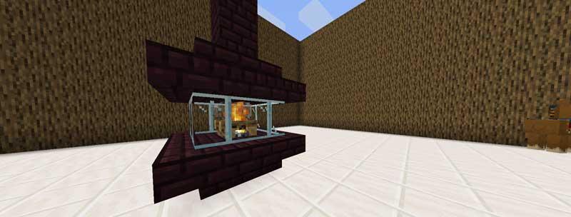 内装 暖炉