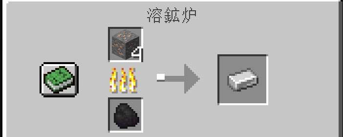 溶鉱炉で精錬できる